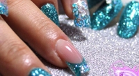Unghie Nail Art Glitter