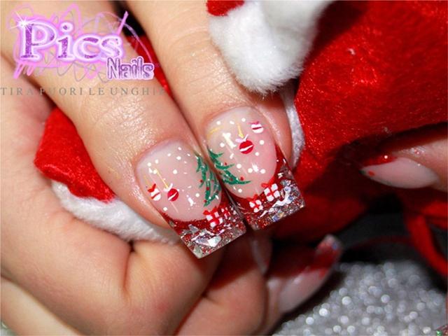Unghie Natale
