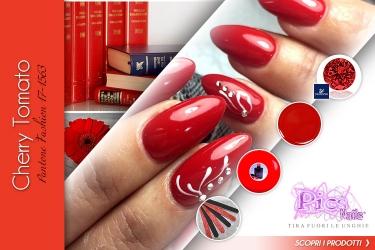 Unghie Primavera Rosso Cherry Tomato