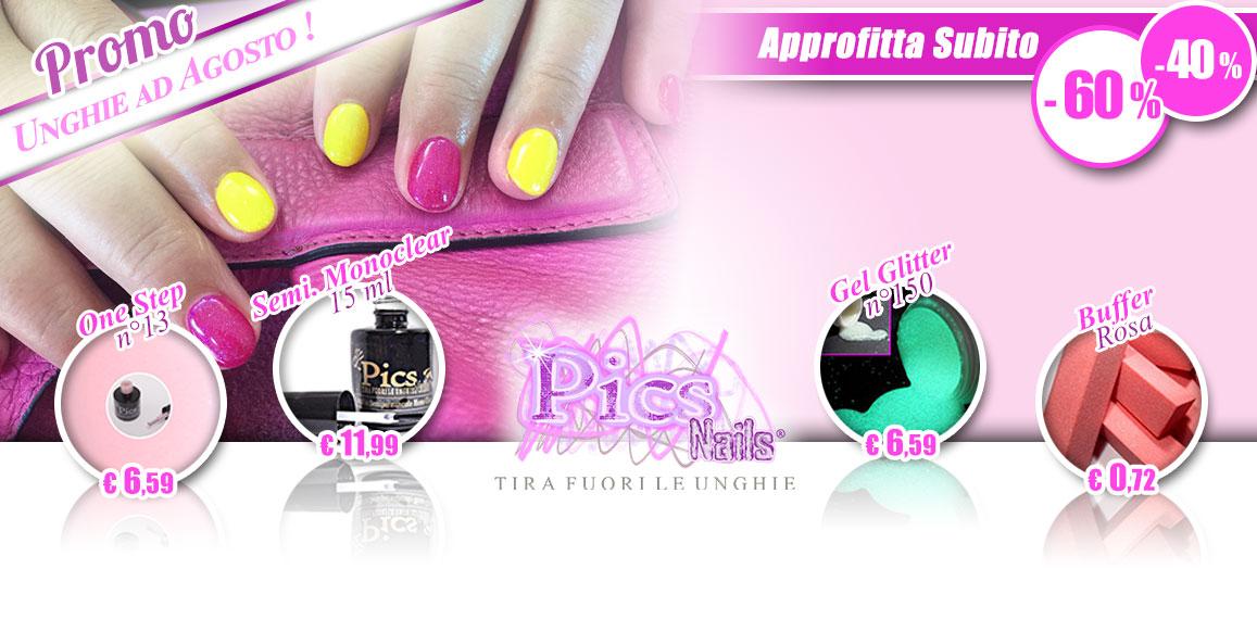 Unghie Speciali per Agosto...con la Promo Pics Nails!