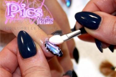 Chameleon Nails How To Use The New Pics Nails Powder Pics Nails